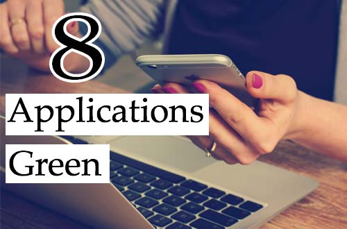 8 applications écolos green
